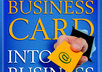 display your business card on my blog small1
