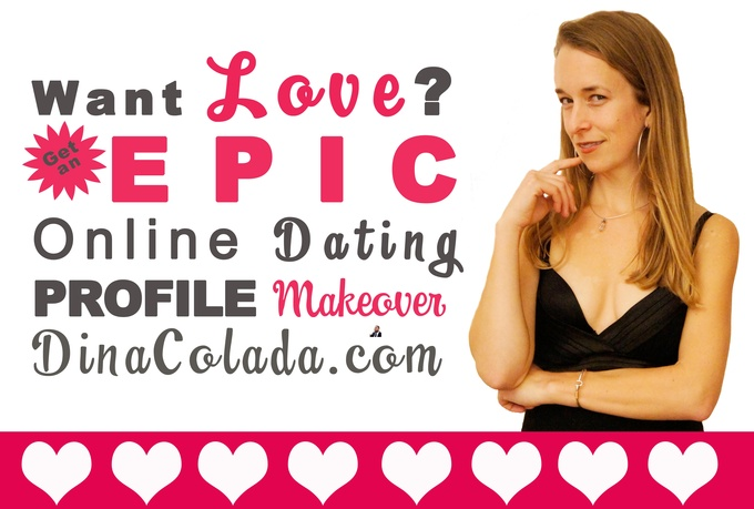 Online dating profile creator