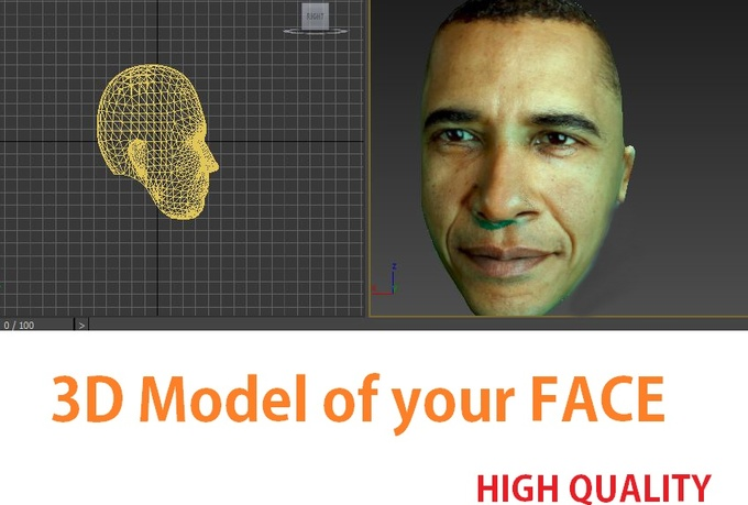 Make Your Face In 3d Model From Photo Gigsworld World Of Gigs