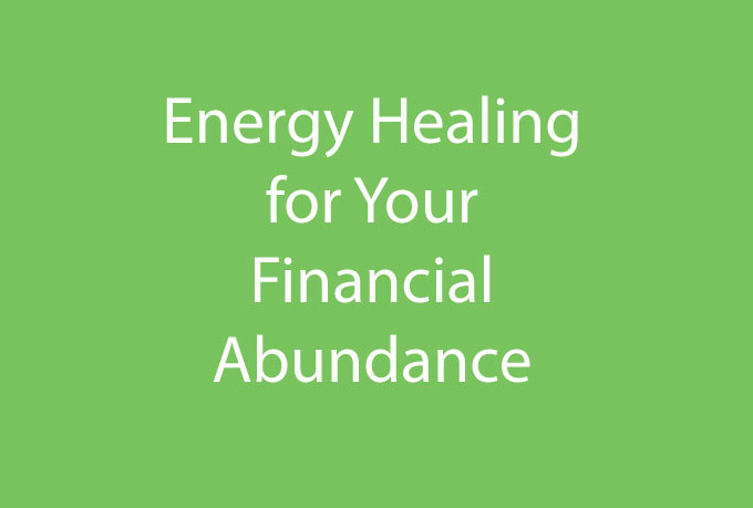 send your finances healing energy