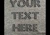 etch your business name or anything else into this stone and send you the image