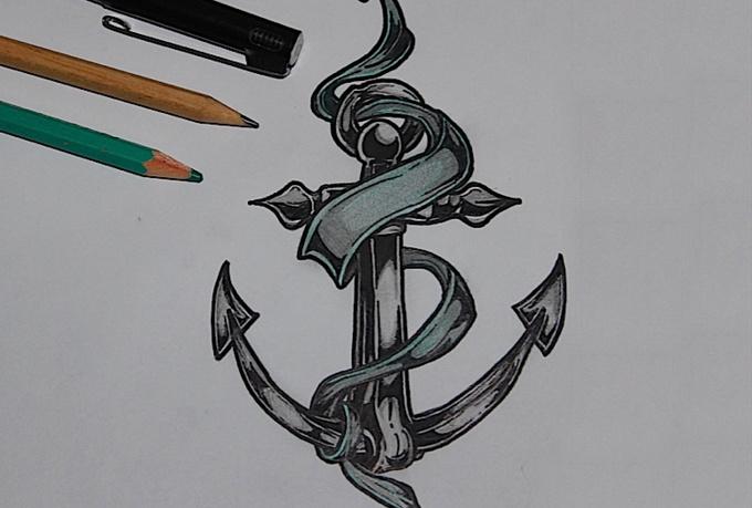 make a custom tattoo design stencil fiverr. Black Bedroom Furniture Sets. Home Design Ideas