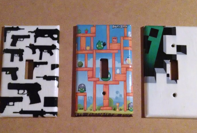 Send You A Cool Custom Light Switch Cover Of Your Choice