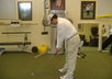 teach you how to have perfect posture in your golf swing