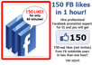 give you guaranteed 100 real human Facebook fans in ONE day