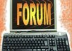 do 25 to 50 posts or comments on your forum or blog