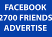 suggest your page or anything onto my 2700 friends in facebook
