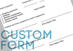 create a custom, printable form with your logo small1