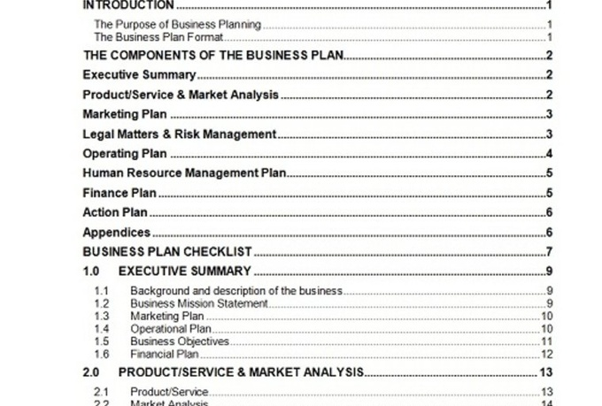 Send you a 63 page business plan template with cash flow for Two page business plan template