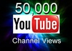 get you 50,000 YouTube Channel views