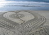 write your message in the sand and send you a picture