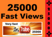 give You 25,000+ YouTube Video Views, Guaranteed and Safe in 1 week just