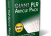 give you 100,000 PLR articles to use any way you want