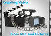 create a video from your MP3 and JPEG pictures