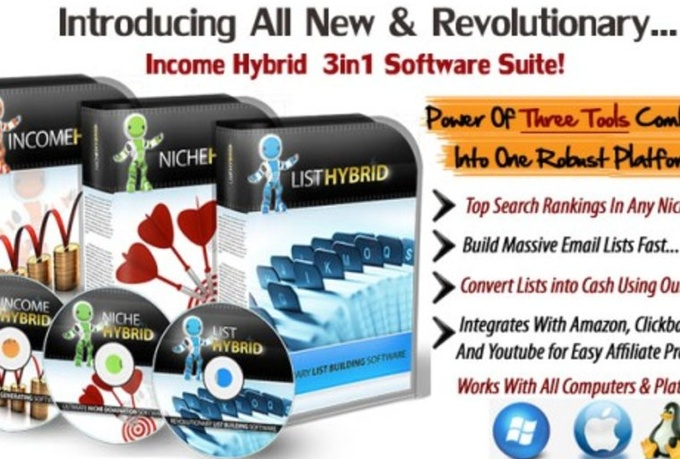 give you Income Hybrid the fastest viral traffic platform on earth