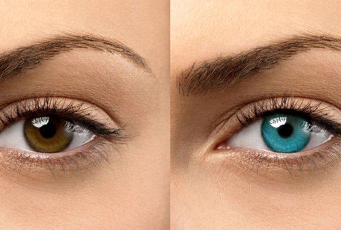 How to change your eye color using honey
