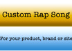 create an amazing video song for your product, company or website with a slight gangster twist to it