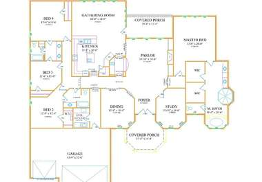 will convert your floor plan sketches into CAD for $5