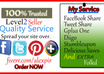 spread Your Site To Real 12 Facebook Share,12 Tweet,10 Google plus,40 Stumbleupon, 30 Delicious, 20 folkd and bonus 20 Diigo small1