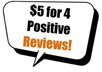 write 10 positive Quality reviews and post 10 comments for your professional or any blog or website