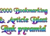 do 500 Approved Article Submission and 1000 Social Bookmarking No need to send Artticles small1