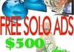 explain and show you a step by step legal ways of making 500 dollars a day with FREE solo ads