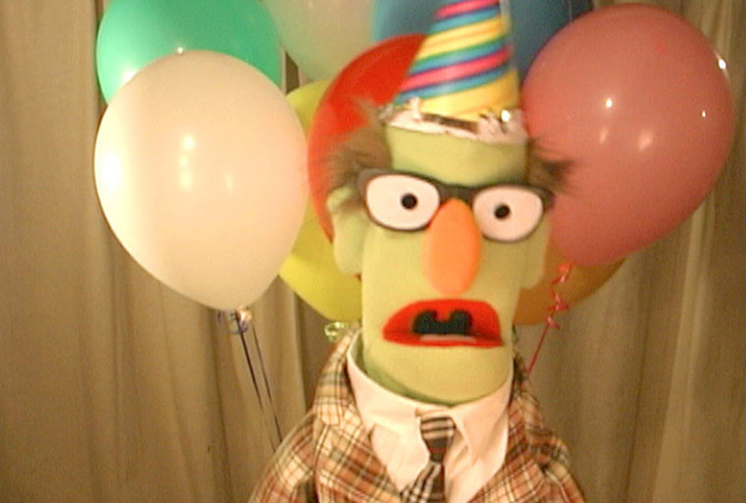 have Harold the Puppet make a custom birthday video