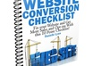 help you Fix your BIGGEST Conversion Killing mistakes on your website by sending you my 10 point website checklist